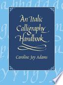 An Italic Calligraphy Handbook Book