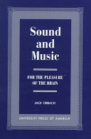 Sound and Music ebook