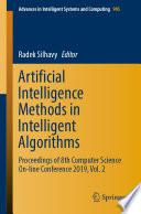 Artificial Intelligence Methods in Intelligent Algorithms