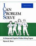 I Can Problem Solve: Preschool