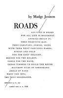Roads ...