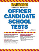 Barron's Officer Candidate School Tests