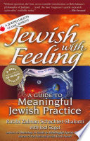 Jewish with Feeling Book PDF