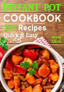 Instant Pot Pressure Cooker Cookbook Book PDF