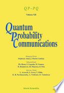 Quantum Probability Communications
