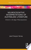 Neurocognitive Interpretations of Australian Literature