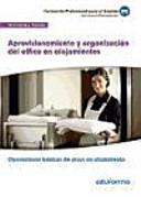 Aprovisionamiento y organización del office en alojamientos