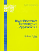 Power Electronics Technology and Applications II