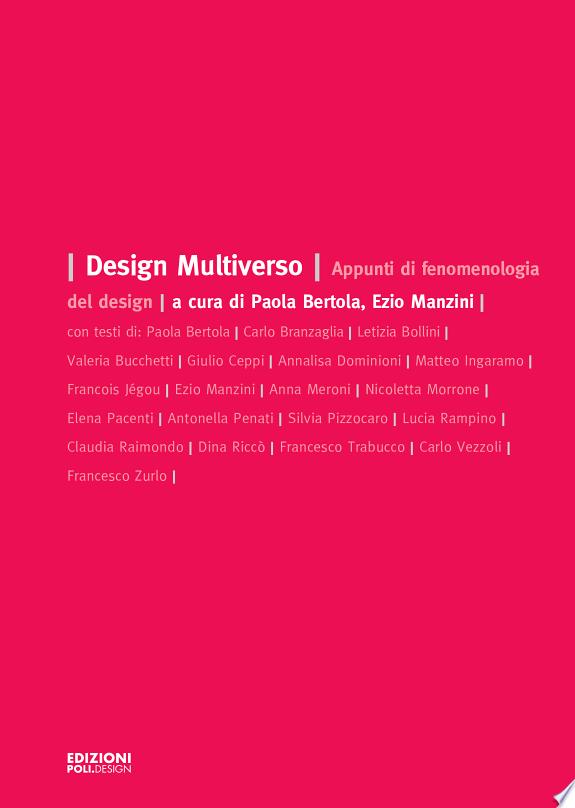 Design multiverso. Appunti di fenom