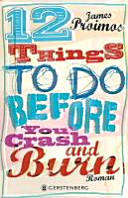 12 things to do before you crash and burn Book