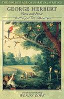 George Herbert Books, George Herbert poetry book