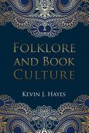 Folklore and Book Culture Pdf/ePub eBook