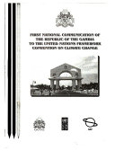 National Communication of the Republic of The Gambia to the United Nations Framework Convention on Climate Change