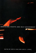 Aboriginal Rights and Self Government