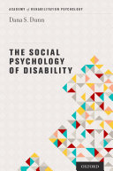 The Social Psychology of Disability