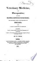 Veterinary Medicine  and Therapeutics Book