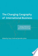 The Changing Geography of International Business