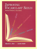 Improving Vocabulary Skills Book