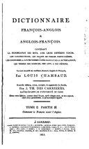 Dictionnaire françois-anglois et anglois-françois ... revue ...