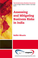 Assessing and MitigatingBusiness Risks in India
