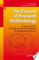 The Essence of Research Methodology