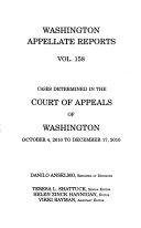 Washington Appellate Reports