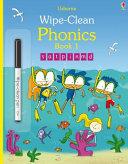 Wipe Clean Phonics Book 1 Book