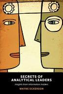 Secrets of Analytical Leaders Book