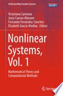 Nonlinear Systems Vol 1 Book PDF