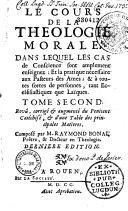 Le cours de la théologie morale