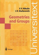 Geometries and Groups