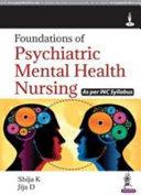 FOUNDATIONS OF PSYCHIATRIC MENTAL HEALTH NURSING