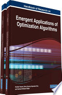 Handbook of Research on Emergent Applications of Optimization Algorithms Book
