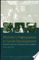 Women s Participation in Social Development