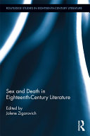Pdf Sex and Death in Eighteenth-Century Literature Telecharger