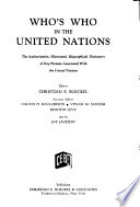 Who's who in the United Nations