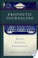 Prophetic Journaling Book