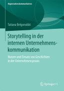Storytelling in der internen Unternehmenskommunikation [Pdf/ePub] eBook