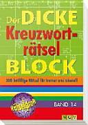 Der dicke Kreuzworträtsel-Block 14