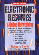 Electronic Resumes & Online Networking: How to Use the ...