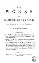 Works, Containing Sermons on Several Subjects