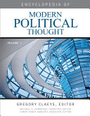 Encyclopedia of Modern Political Thought (set) - Seite 10