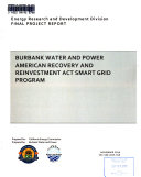 Burbank Water And Power American Recovery And Reinvestment Act Smart Grid Program Book PDF