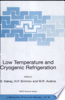 Low Temperature and Cryogenic Refrigeration Book