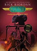 The Kane Chronicles  Paperback Box Set  with Graphic Novel Sampler