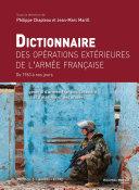 Pdf Dictionnaire des opérations extérieures de l'armée française Telecharger