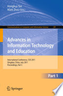 Advances In Information Technology And Education Book PDF