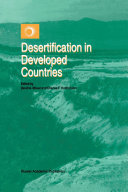 Pdf Desertification in Developed Countries