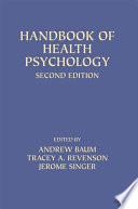 Handbook of Health Psychology Book