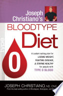 Joseph Christiano's Bloodtype Diet O